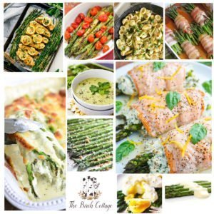 A collection of 10 super healthy and delicious asparagus recipes from The Birch Cottage