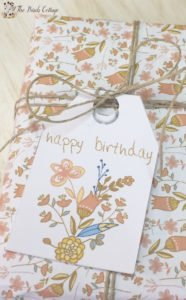Download your large free printable gift tags for birthdays from The Birch Cottage!