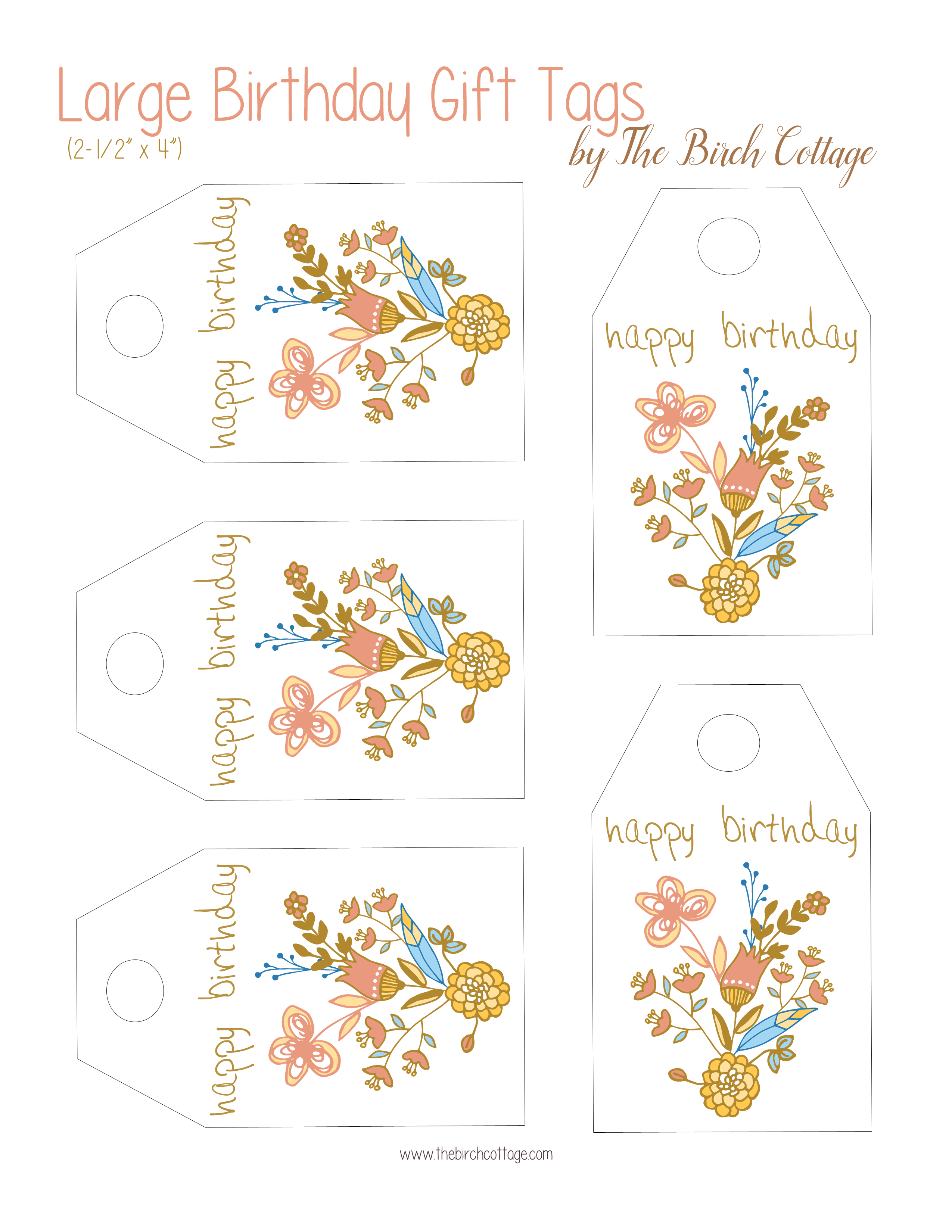 It is a photo of Happy Birthday Tag Printable with regard to colorful gift