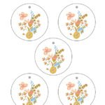 Large Round Printable Birthday Gift Tags