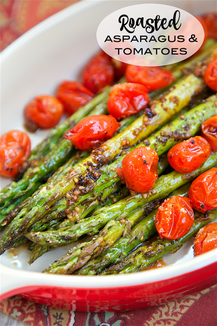 Roasted Asparagus and Tomatoes Recipe