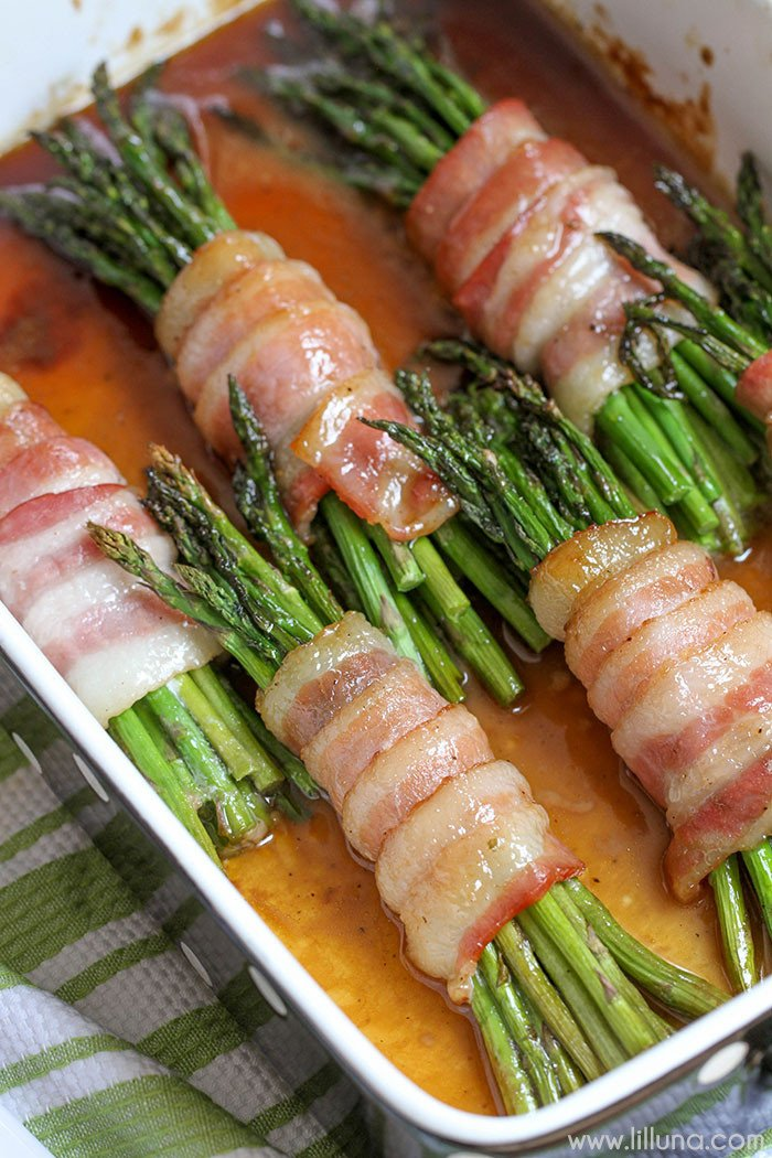 Asparagus Bundles with Bacon Recipe