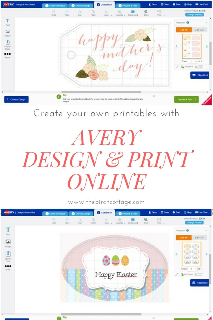 Avery Design & Print Online by The Birch Cottageby The Birch Cottage - 01