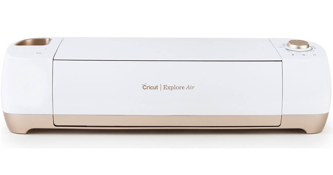 The new GOLD Cricut Explore Air 2