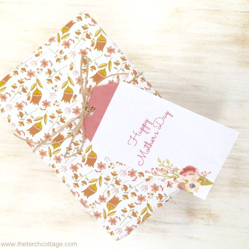 Mothers Day Printable Gift Tags by The Birch Cottage