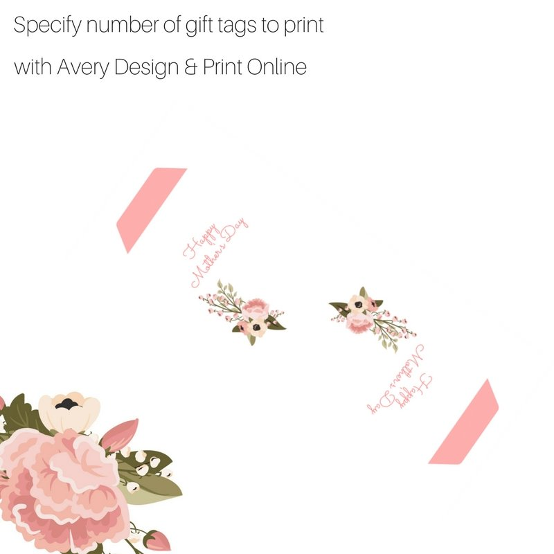 Specify number of gift tags to print