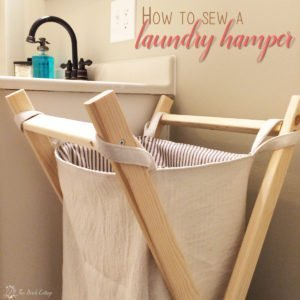 How to Sew a Reversible Laundry Hamper