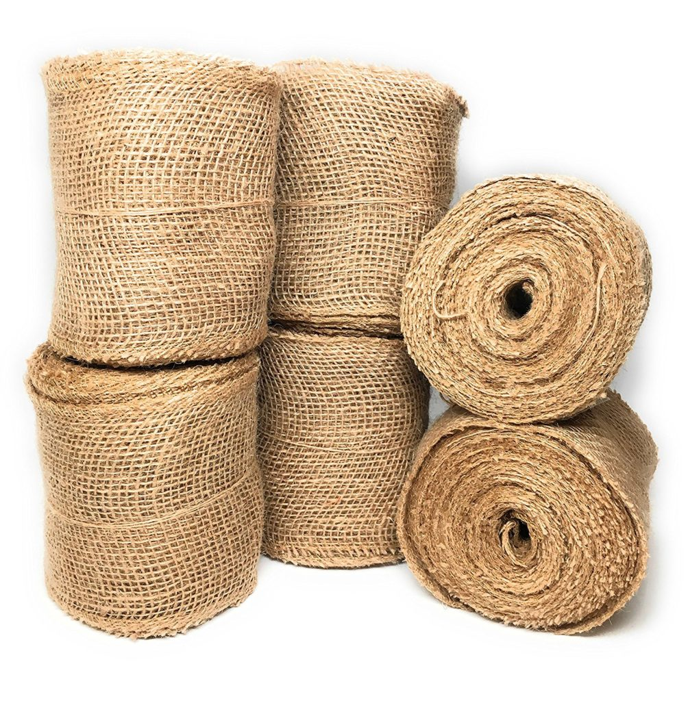 Burlap Ribbon from Kenarry: Ideas for the Home