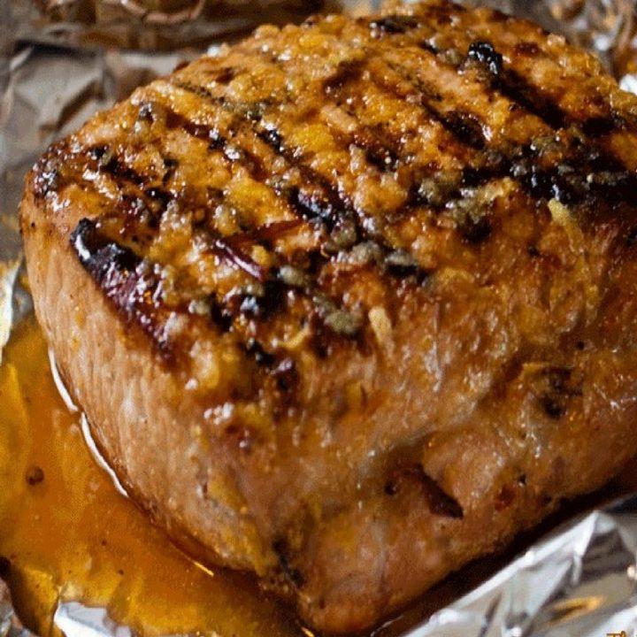 Grilled Pork Tenderloin recipe by The Birch Cottage