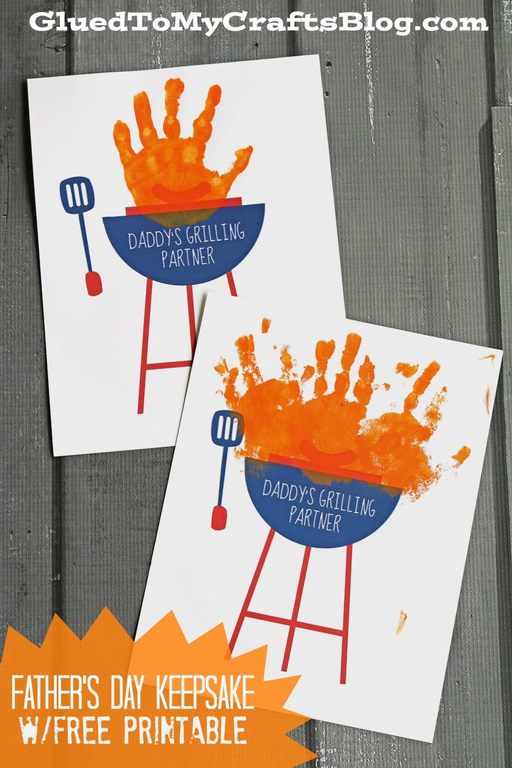 Daddy's Grilling Buddies - A Handmade Father's Day Gift Idea featured on The Birch Cottage blog