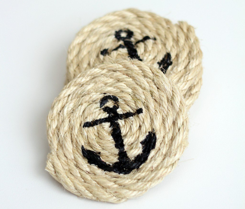 Make this Nautical Sisal Rope for a handmade Father's Day gift idea as featured on The Birch Cottage blog.