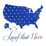 Download four free printable patriotic prints because you can never have enough patriotic prints!