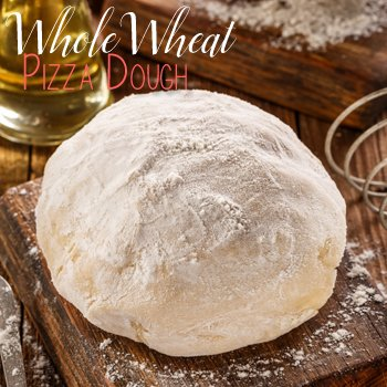 Whole Wheat Pizza Dough recipe from The Birch Cottage