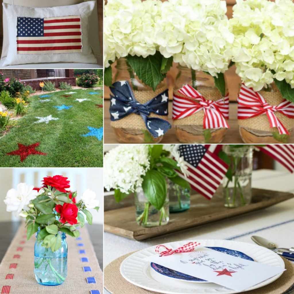 Patriotic Decor Ideas from The Birch Cottage & 5 Fantastic DIY Patriotic Decor Ideas for Your Home - The Birch Cottage
