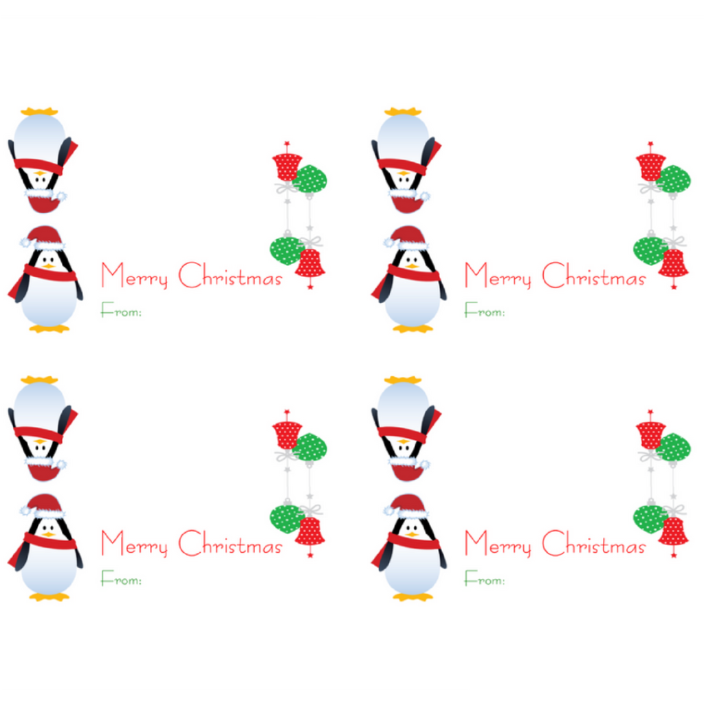 Celebrate Back to School with Printable Christmas Gift Bag Toppers ...