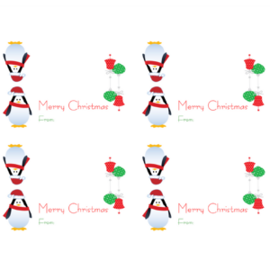 Celebrate Back to School with Printable Christmas Gift Bag Toppers!
