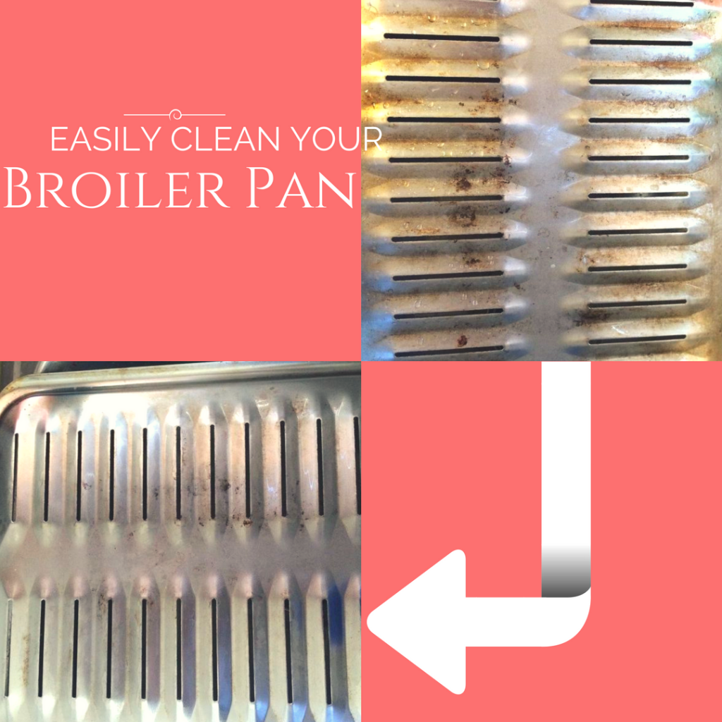 How to clean a broiler pan the easy way!
