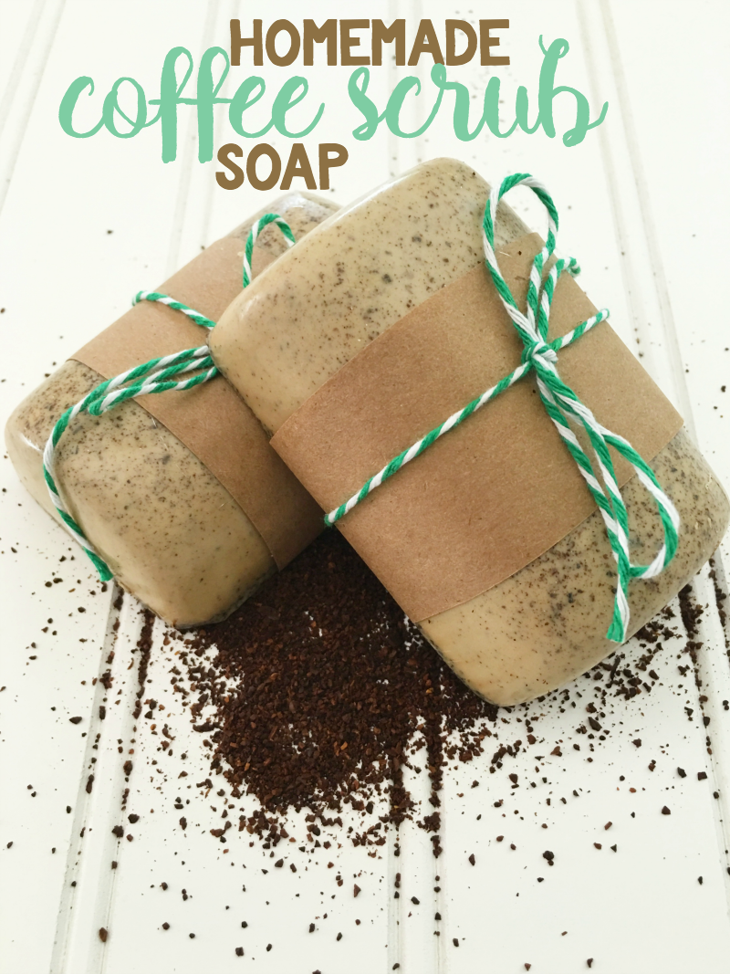 Homemade Coffee Soap for Him