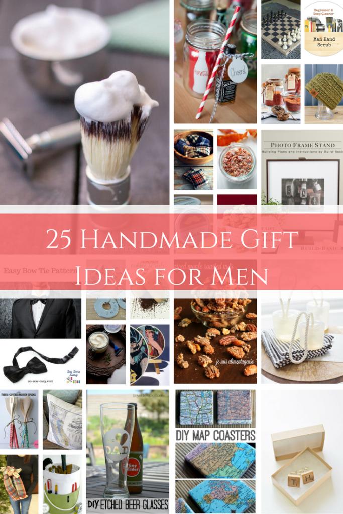 25 Handmade Gift Ideas for Men
