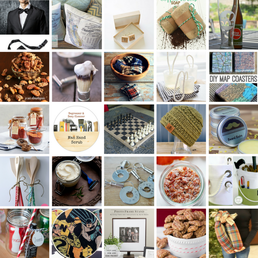 25 Handmade Gift Ideas for Men