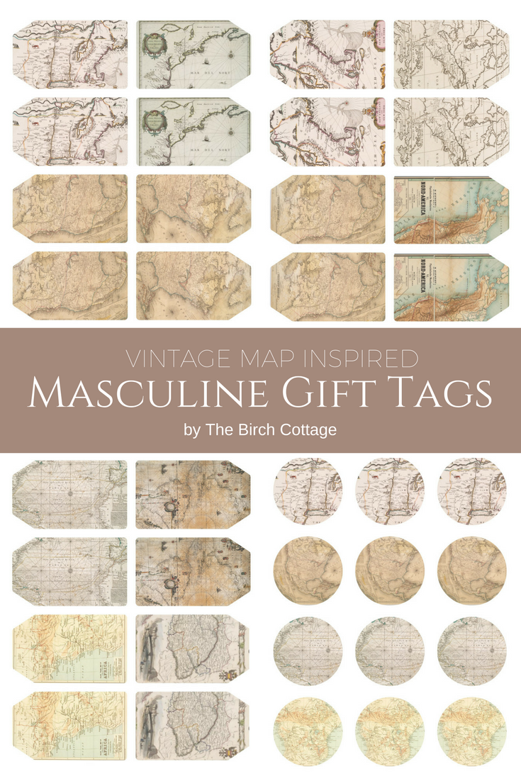 picture about Free Printable Vintage Images called Down load Your Cost-free Printable Basic Map Encouraged Masculine