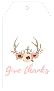 Printable Give Thanks Gift Tags and Labels from The Birch Cottage