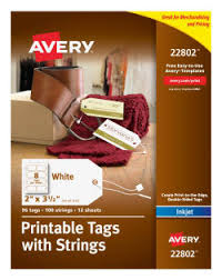 Avery Gift Tags and Labels