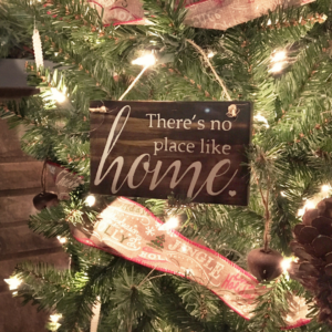 DIY Rustic Handmade Christmas Ornaments from Reclaimed Wood