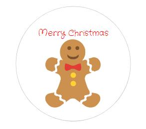 Gingerbread Christmas Gift Tags