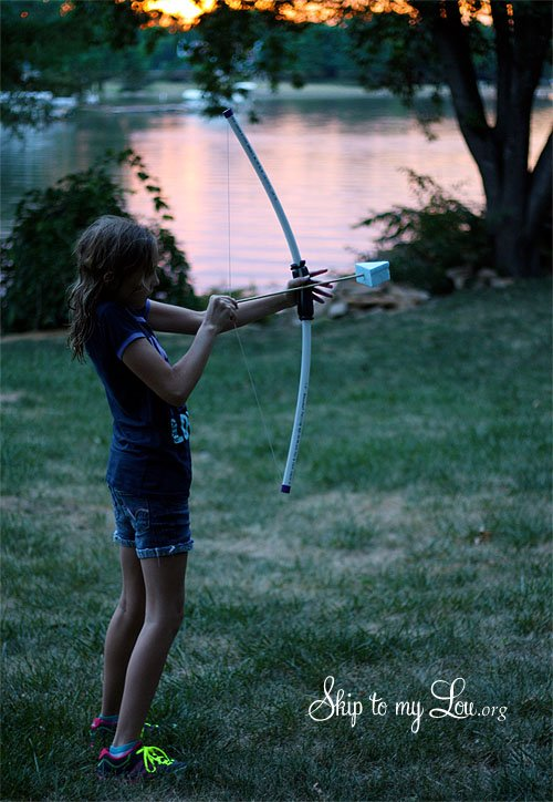 Bow and Arrow from PVC Pipe