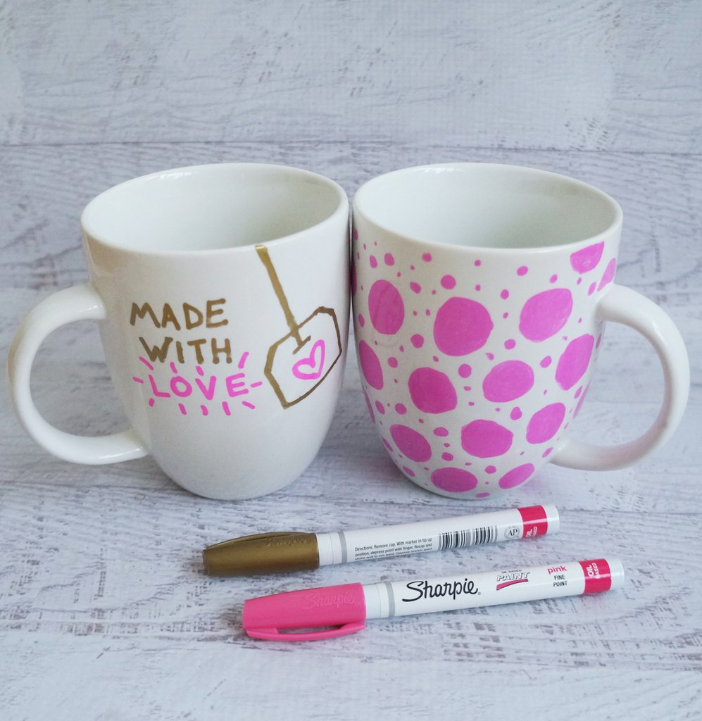 Sharpie Mug - Handmade Gift Ideas for Teens by The Birch Cottage
