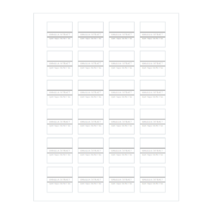 Vanilla Extract Printable Labels - Avery 22805