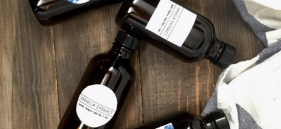 Vanilla Extract Printable Labels by The Birch Cottage