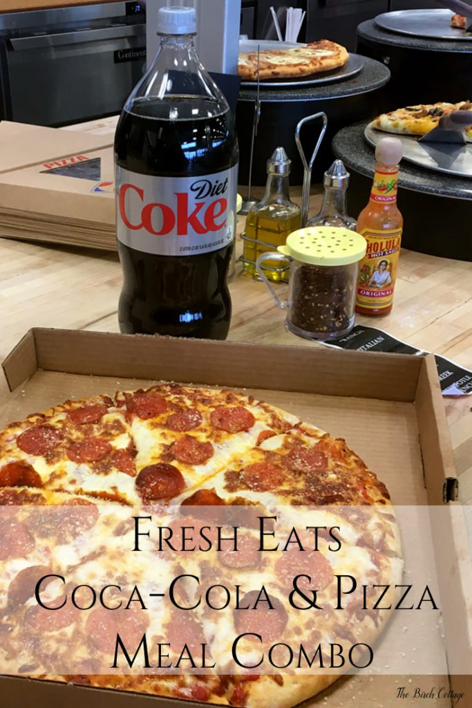 Fresh Eats Coca-Cola Pizza Meal Deal
