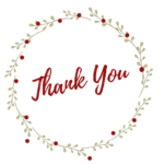 Thank You Note Cards for Avery 8315