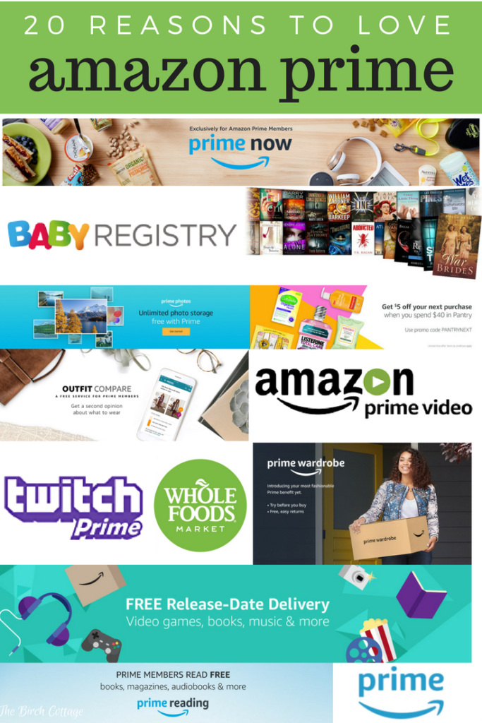 20 Reasons to Love Amazon Prime by The Birch Cottage