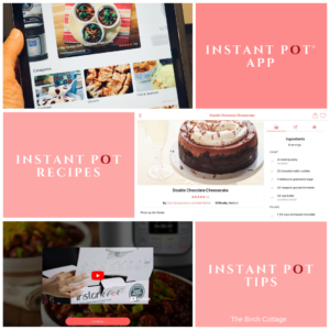 The Instant Pot Recipe App by The Birch Cottage