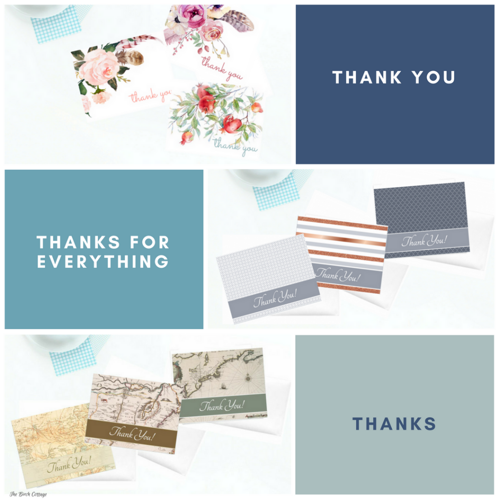 Thank You Cards from The Birch Cottage Shop on Etsy