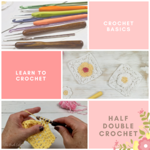 Learn to Crochet: How to Half Double Crochet (hdc)