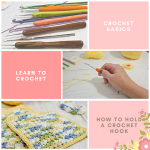 Learn to Crochet: How to Hold a Crochet Hook