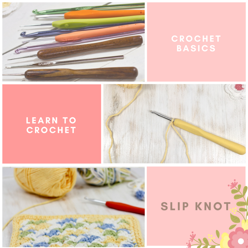Learn how to make a slip knot in this learn to crochet series by The Birch Cottage.
