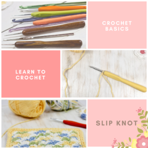 Learn to Crochet: How to Make a Slip Knot