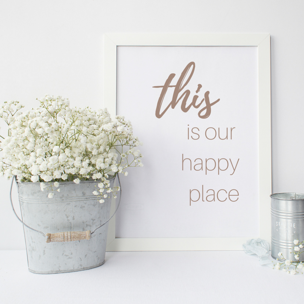 Love Print: This is our happy place