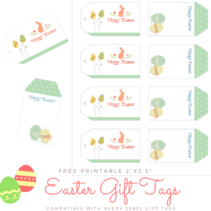 ?? Download Your Free Printable Easter Gift Tags!