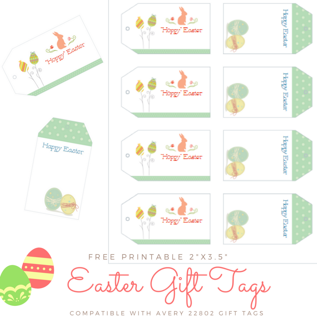 Download your free Printable Easter Gift Tags by The Birch Cottage