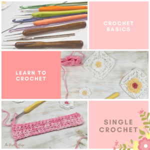 Learn to crochet: How to single Crochet