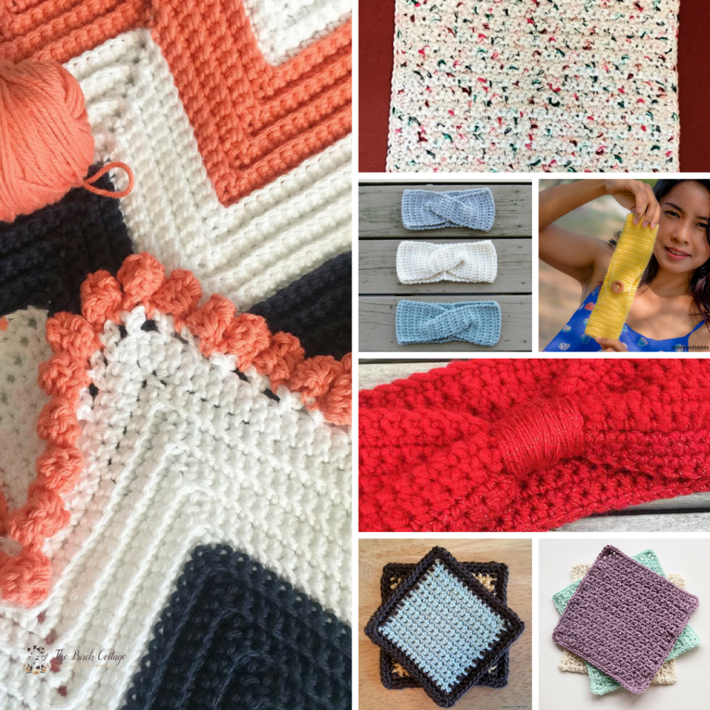 7 Single Crochet Projects from The Birch Cottage