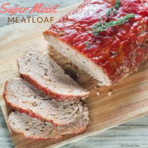 Get this recipe for Super Moist Meatloaf that your family will love!