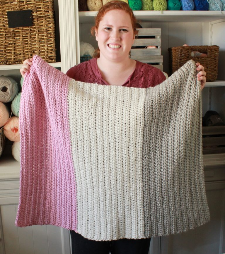 Daisy Farm Crafts Modern Beginner Blanket