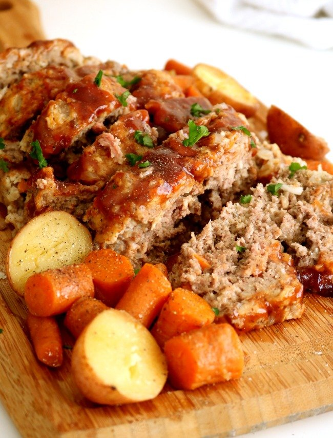 Instant Pot Meatloaf by Kitchen Dreaming